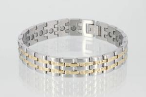 8228B - Magnetarmband bicolor