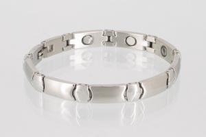 Magnetarmband silberfarben - 8482s
