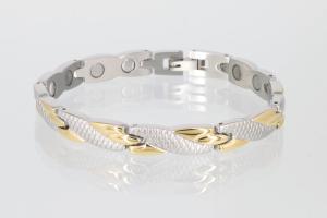 Magnetarmband bicolor - 8541b