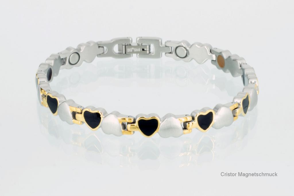E8233B2 - 4-Elemente Armband dreifarbig