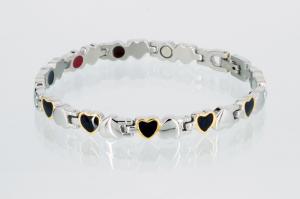 E8233B3 - 4-Elemente Armband dreifarbig