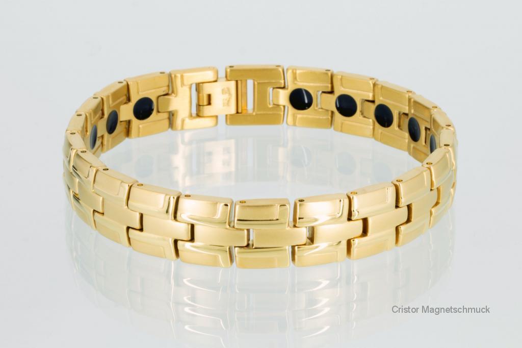 E8035G - 2-Elemente Armband goldfarben