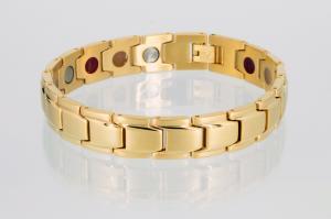 E8262G - 3-Elemente Armband goldfarben