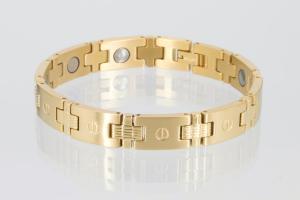 8034G - Magnetarmband goldfarben