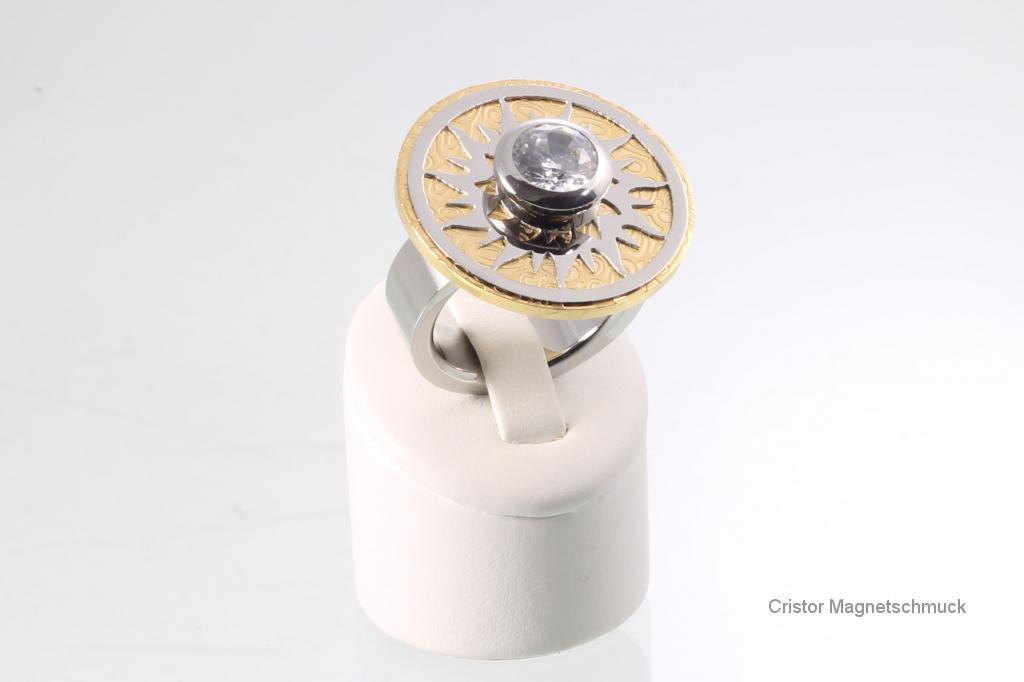WSRSet4002 - Wechselringset gold silber white