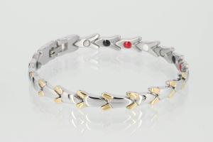 E8551B2 - 4-Elemente Armband bicolor