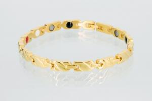 E8561G - 4-Elemente Armband goldfarben