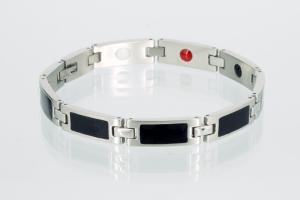 E8037BLS - 4-Elemente Armband bicolor