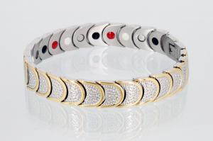 E8283B - 4-Elemente Armband bicolor