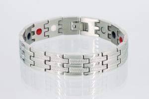 E8327S2 - 4-Elemente Armband silberfarben