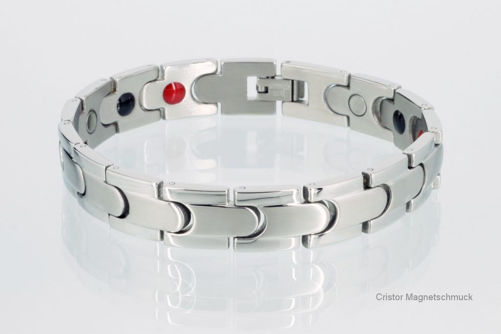 E8062S - 4-Elemente Armband silberfarben