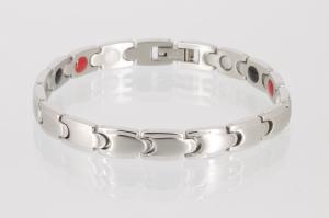 E8152S - 4-Elemente Armband silberfarben