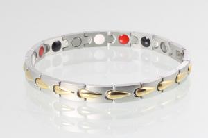 E8273B - 4-Elemente Armband bicolor