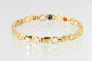 E8232G2 - 4-Elemente Armband goldfarben
