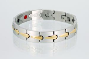 E8272B - 4-Elemente Armband bicolor