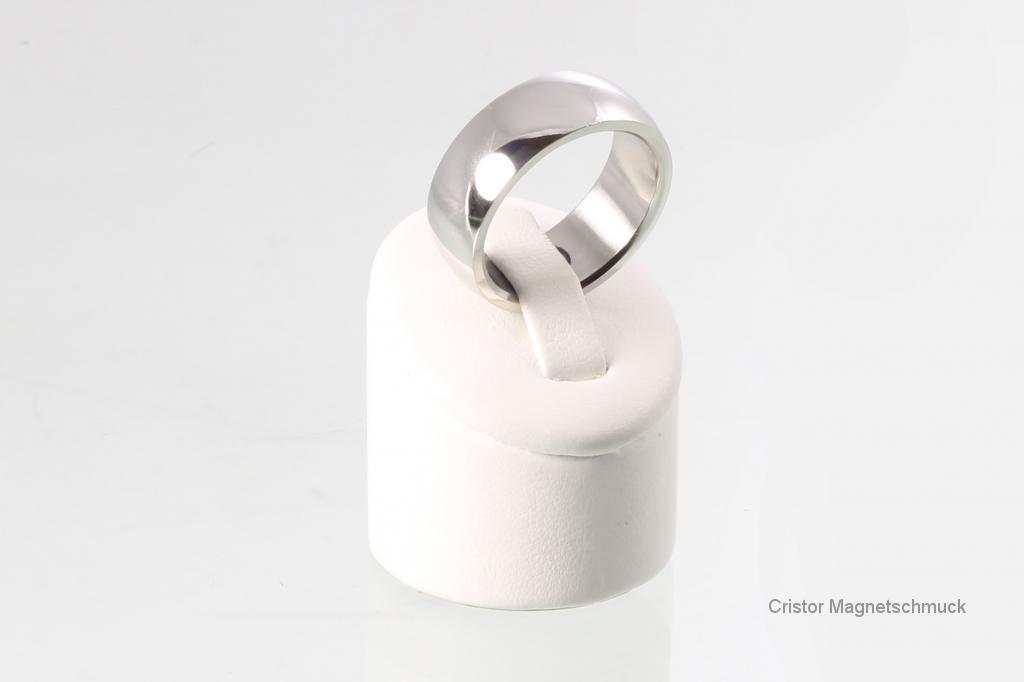 R3629S - Magnetring silberfarben
