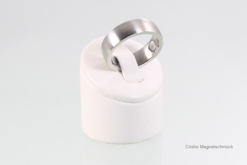 R3628S - Magnetring silberfarben