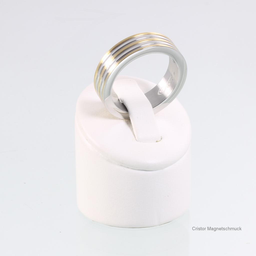R3618BZSet - Magnetringset bicolor