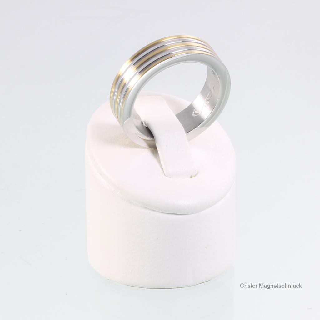 8001Bset - Magnetschmuckset bicolor