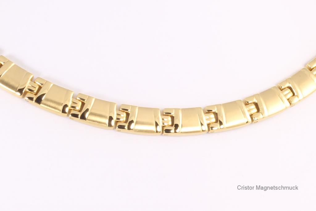 HE9021G - 4-Elemente Halskette goldfarben