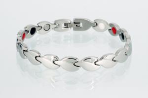 E8123S - 4-Elemente Armband silberfarben