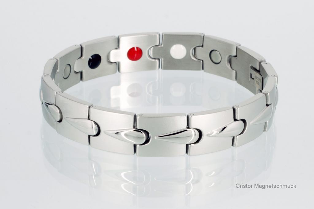 E8272S - 4-Elemente Armband silberfarben