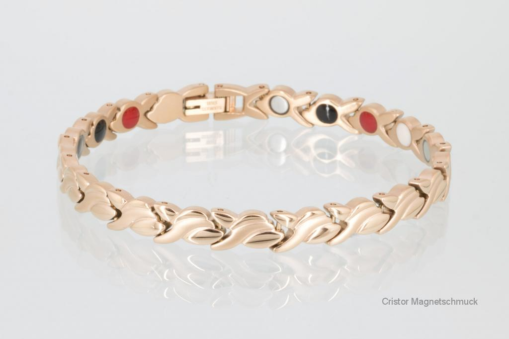 E8333RG - 4-Elemente Armband rosegold