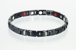 E8368BL - 4-Elemente Armband schwarz