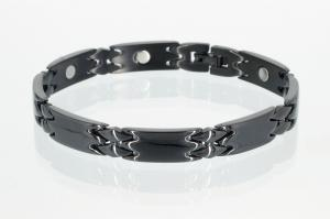 8244BL2 - Magnetarmband schwarz