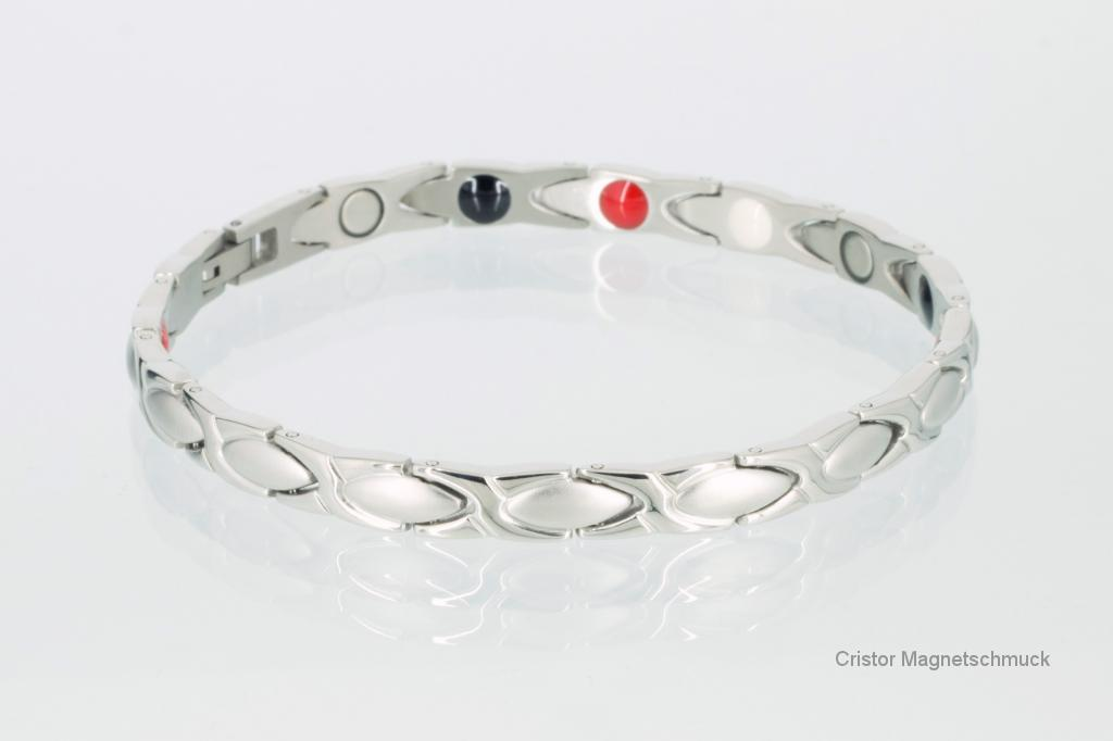 E8011S - 4-Elemente Armband silberfarben