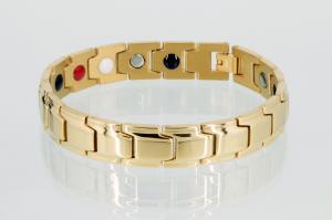 E8262G2 - 4-Elemente Armband goldfarben