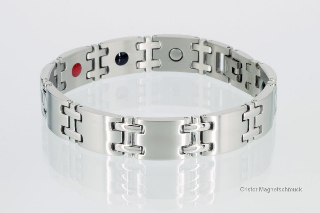 E8075S - 4-Elemente Armband silberfarben