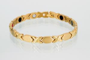 TE8315G - Titan-Energiearmband goldfarben
