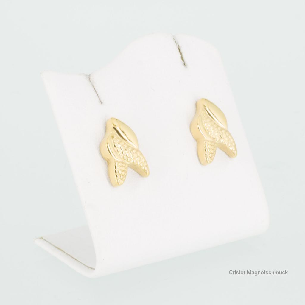 E8541GSet - Energiearmband und Ohrringe im Set goldfarben