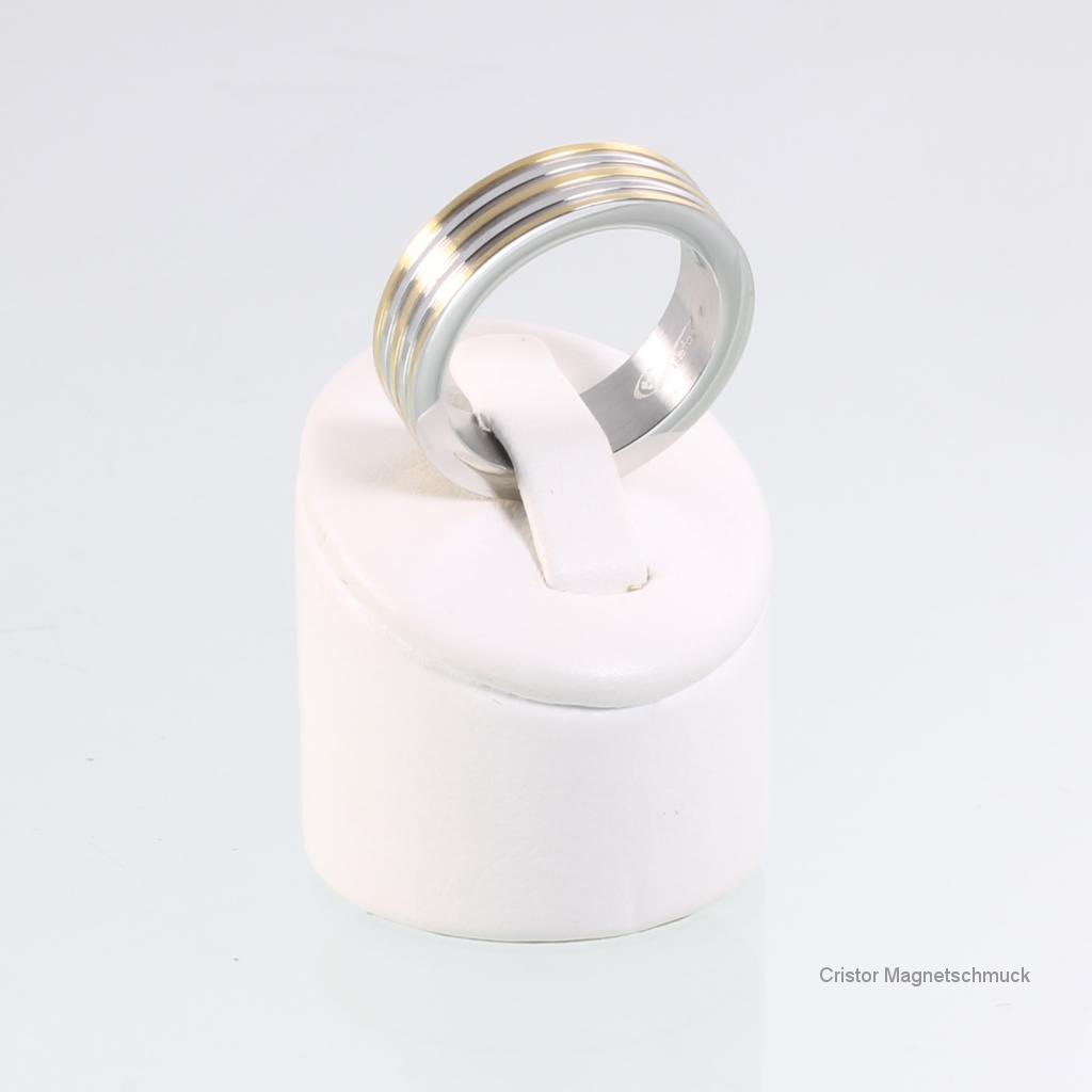8095BSet - Magnetschmuckset bicolor
