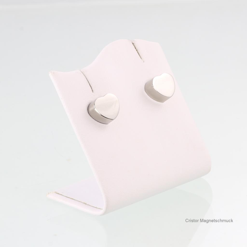 E8232SSet - Energiearmband und Ohrringe im Set silberfarben