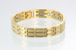 8007G - Magnetarmband goldfarben
