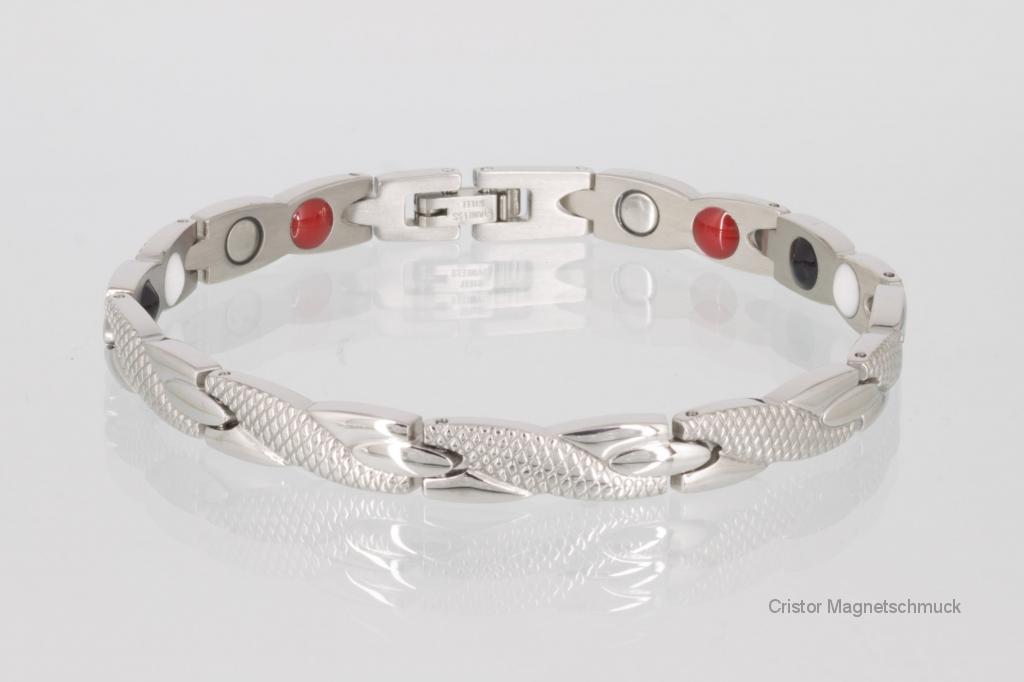 E8541S - 4-Elemente Armband silberfarben