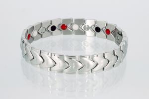 E8607S - 4-Elemente Armband silberfarben