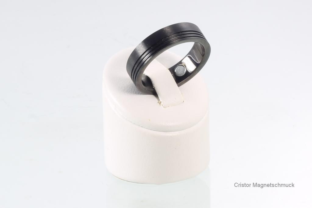 R3657BL - Magnetring schwarz