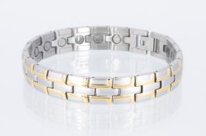 Magnetarmband bicolor - 8035b