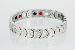 E8283S - 4-Elemente Armband silberfarben