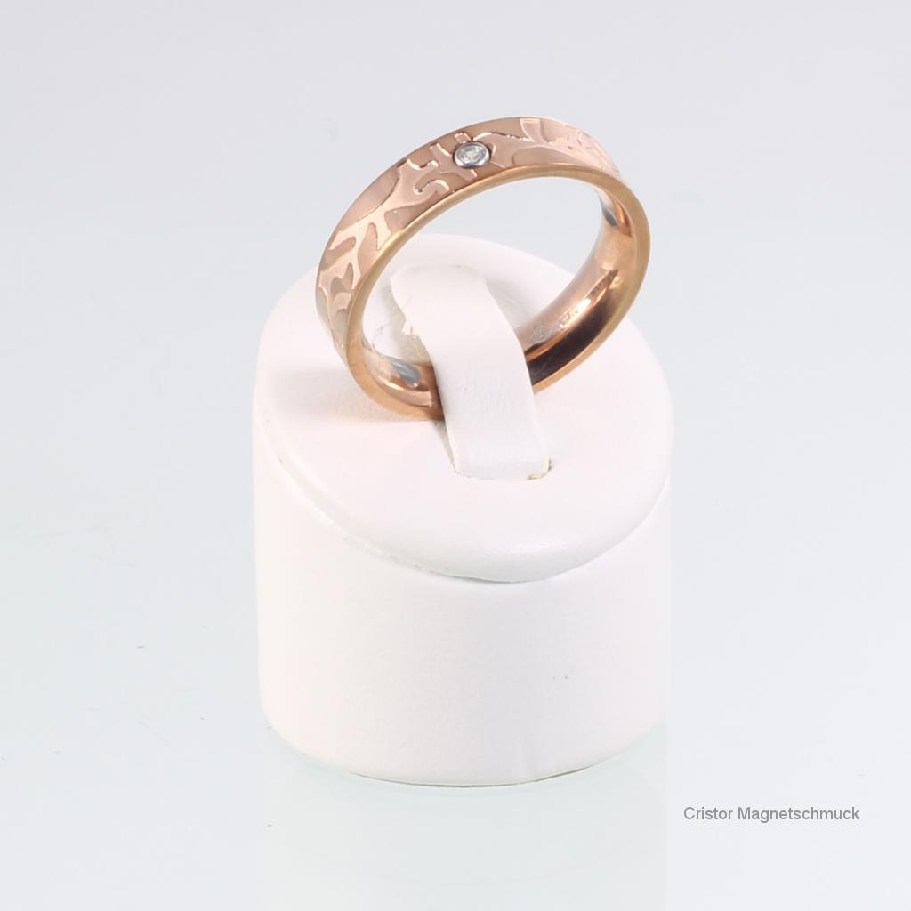8849RGZSet - Magnetschmuckset rosegoldfarben