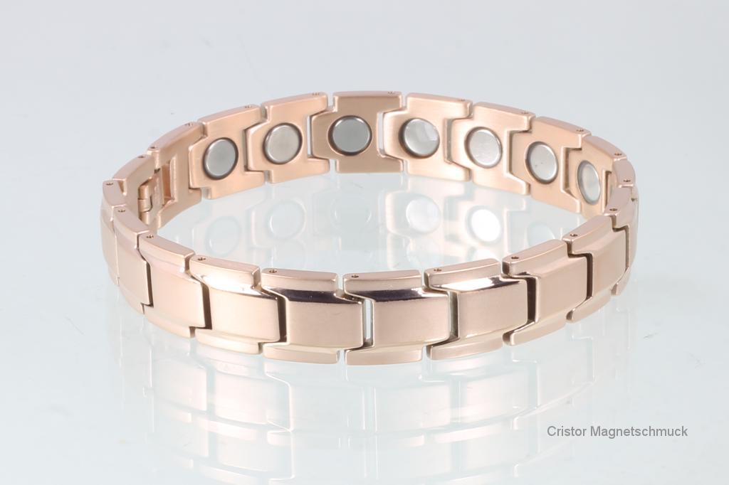 8262RG4 - Magnetarmband rosegold mit extra-starken Magneten