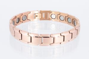 Magnetarmband rosegold mit extra-starken Magneten - 8262rg4