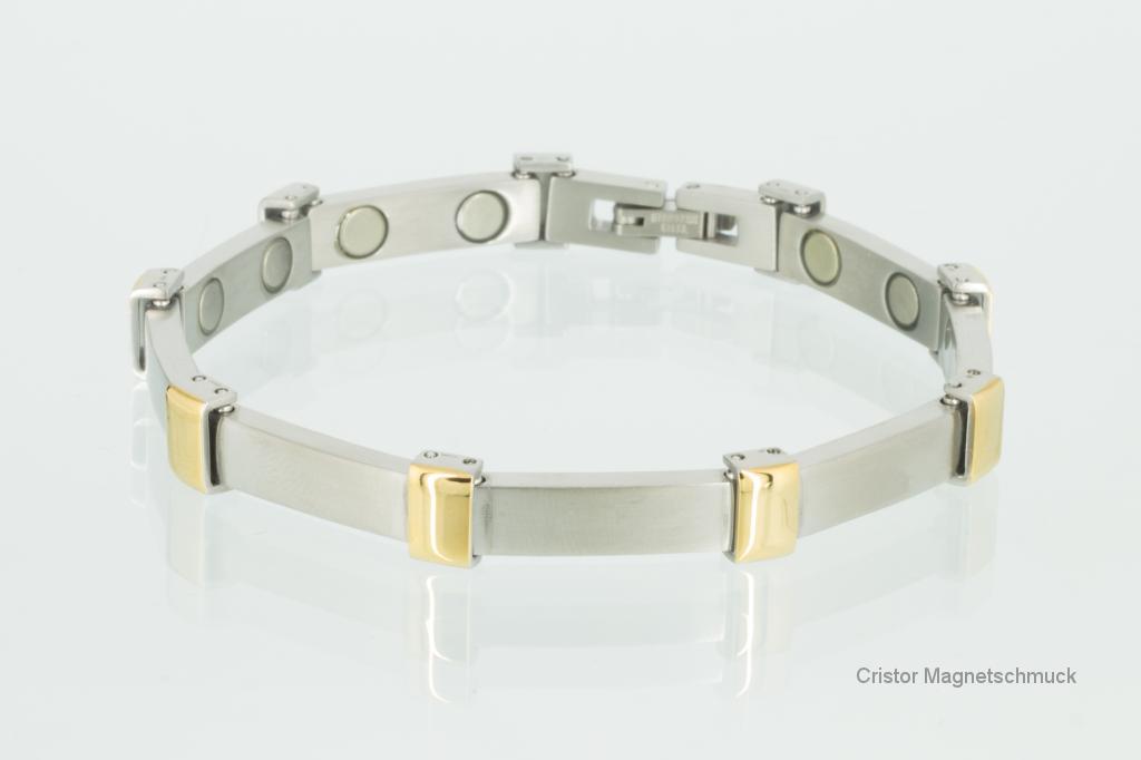 8054B - Magnetarmband bicolor