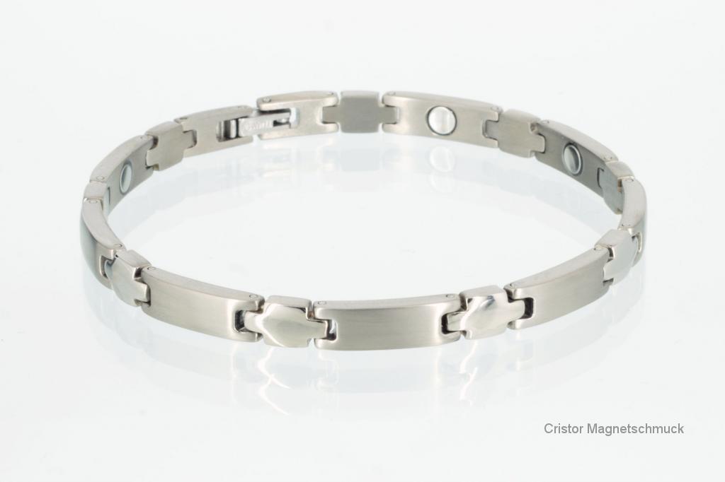 T8312S - Titanarmband silberfarben