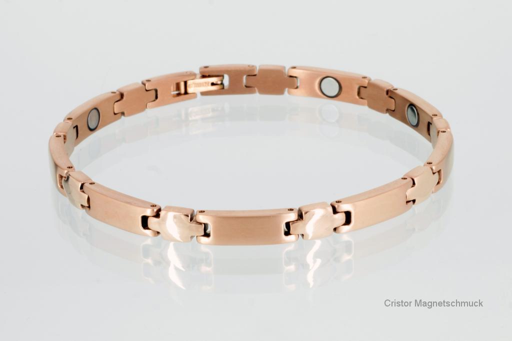 T8312RG - Titan-Magnetarmband rosegoldfarben