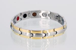 E8046B - 5-Elemente Armband bicolor