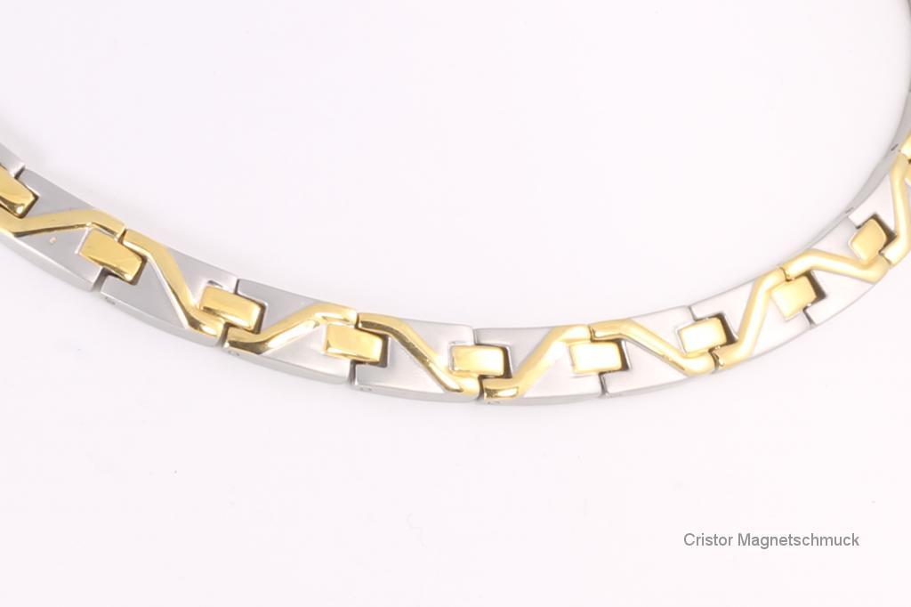 H9002B - Halskette bicolor
